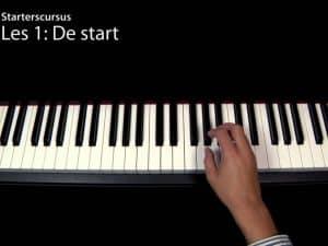 Starten met piano spelen (Videoles 1)