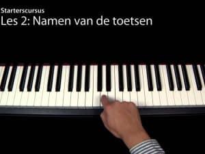 Starten met piano spelen (Videoles 2)